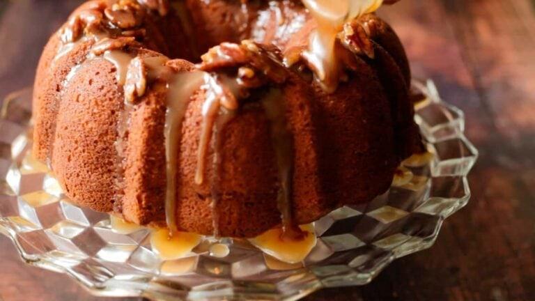 Ty's Sweet Potato Sour Cream Pound Cake