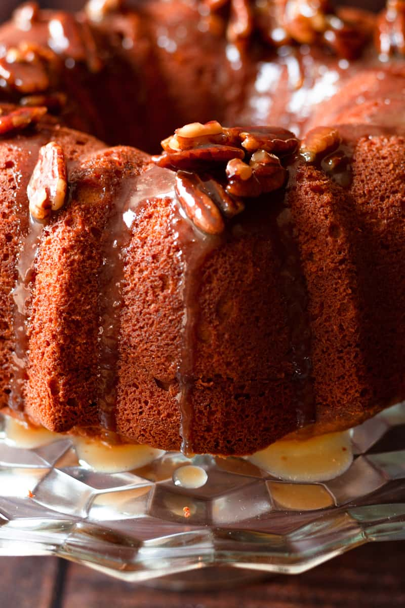 sweet potato sour cream pound cake vertical