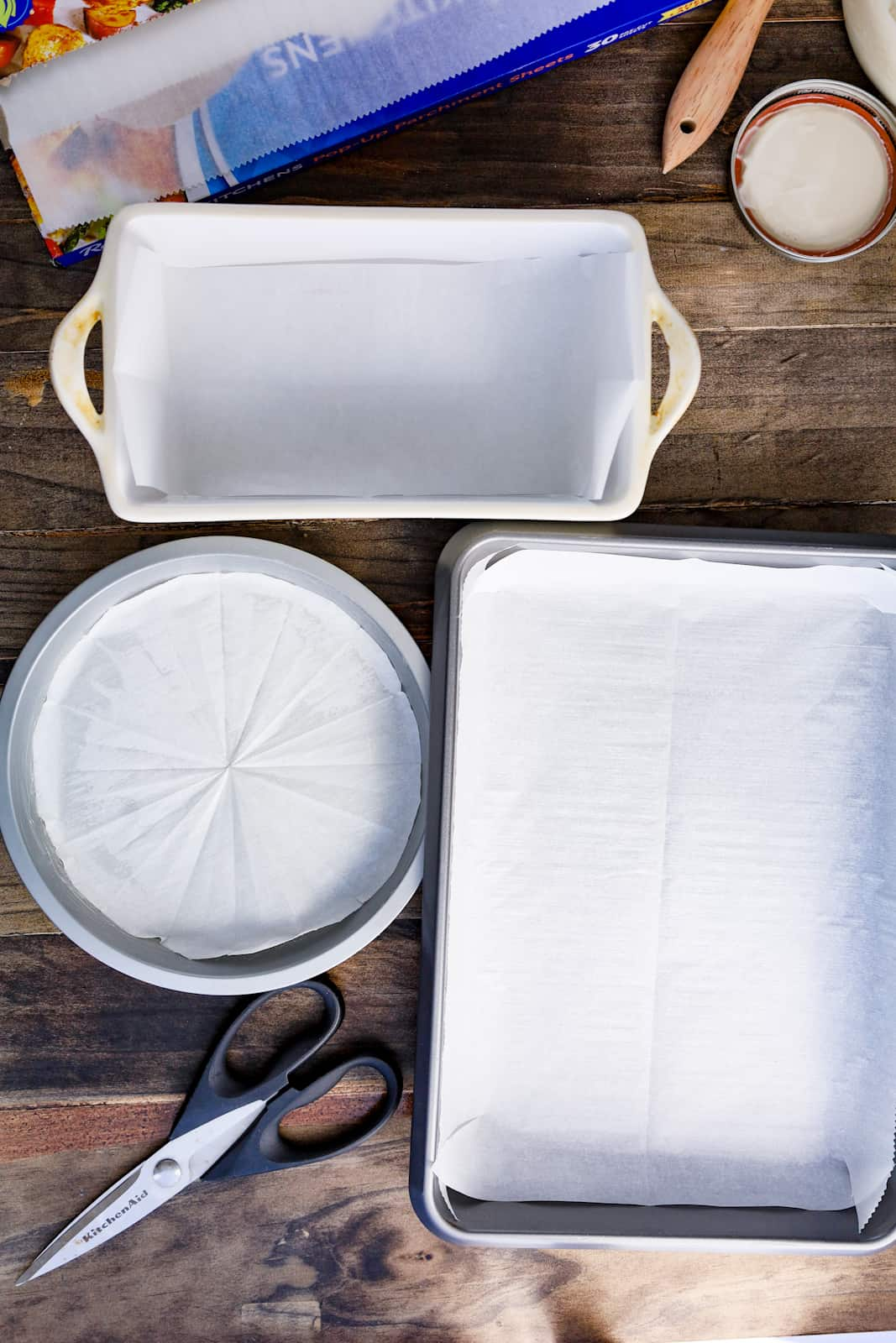 liner cake pans