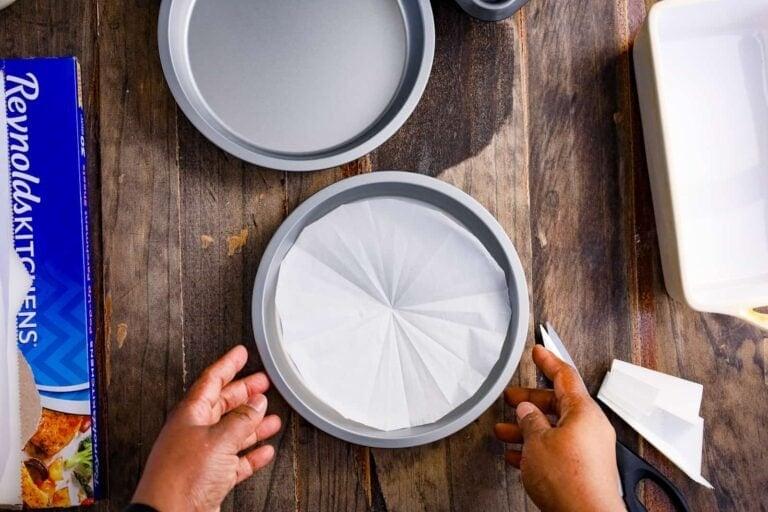 How to Parchment Line Baking Pans