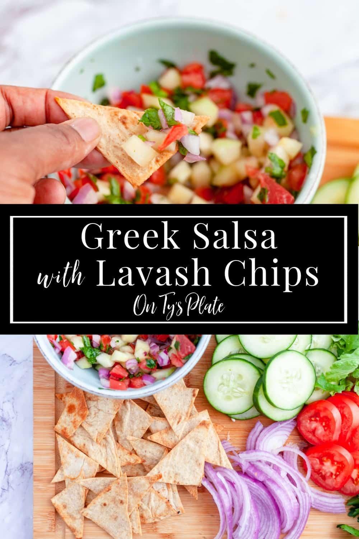 Mediterranean Greek Salsa