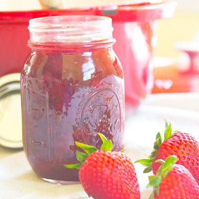 How to Make Refrigerator Jam & A Strawberry Jam Recipe