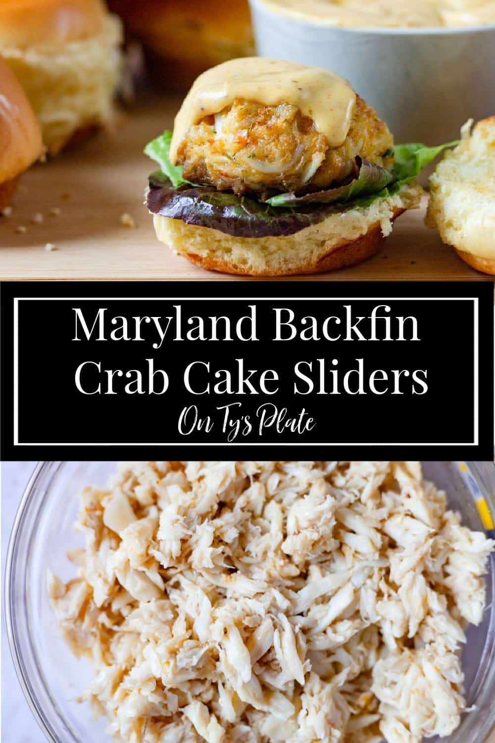 Maryland Backfin Crab Cake Sliders