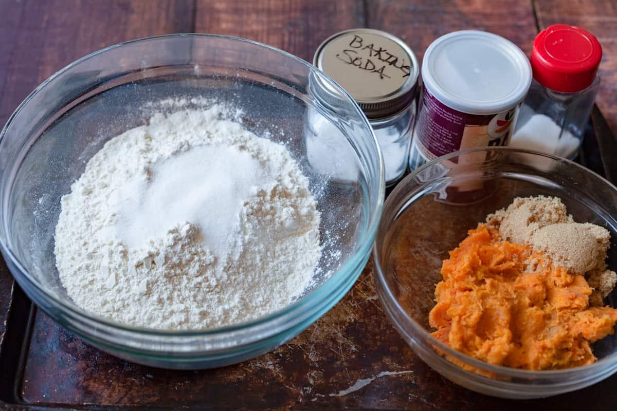 sweet potato biscuit ingredients