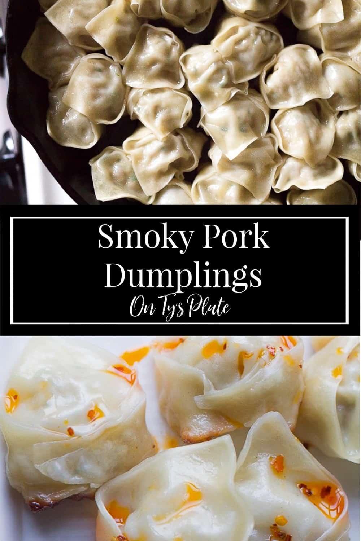 Smoky Pork Dumplings