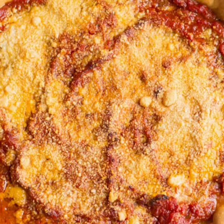 baked chicago style deep dish izza