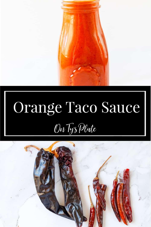 Orange Taco Sauce