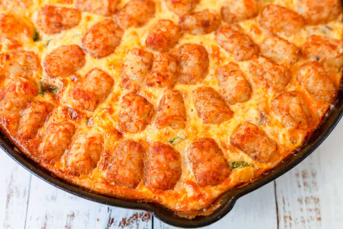 baked tater tot casserole