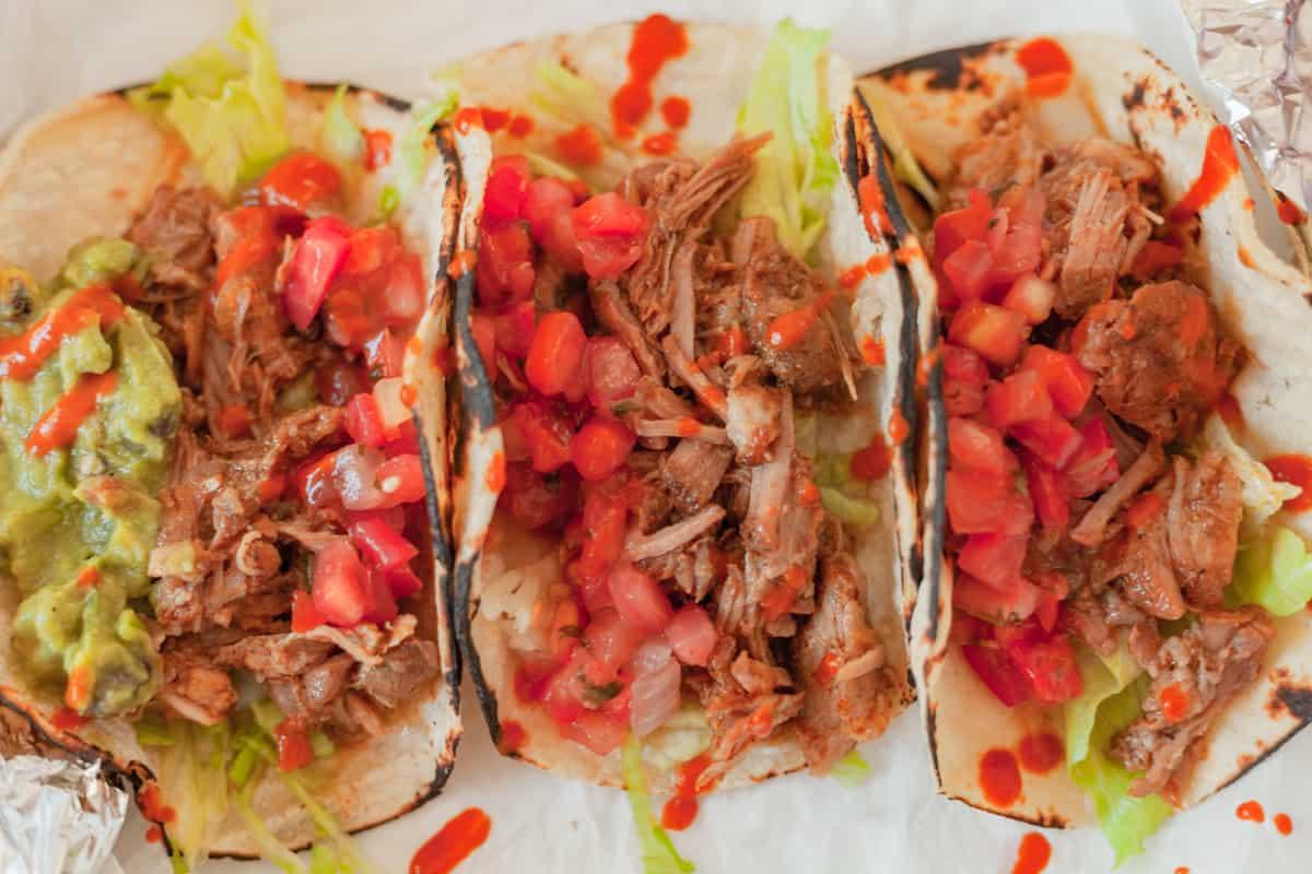 pork carnitas tacos