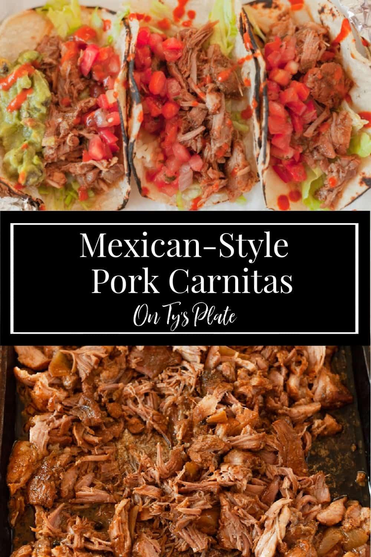 Mexican Style Pork Carnitas