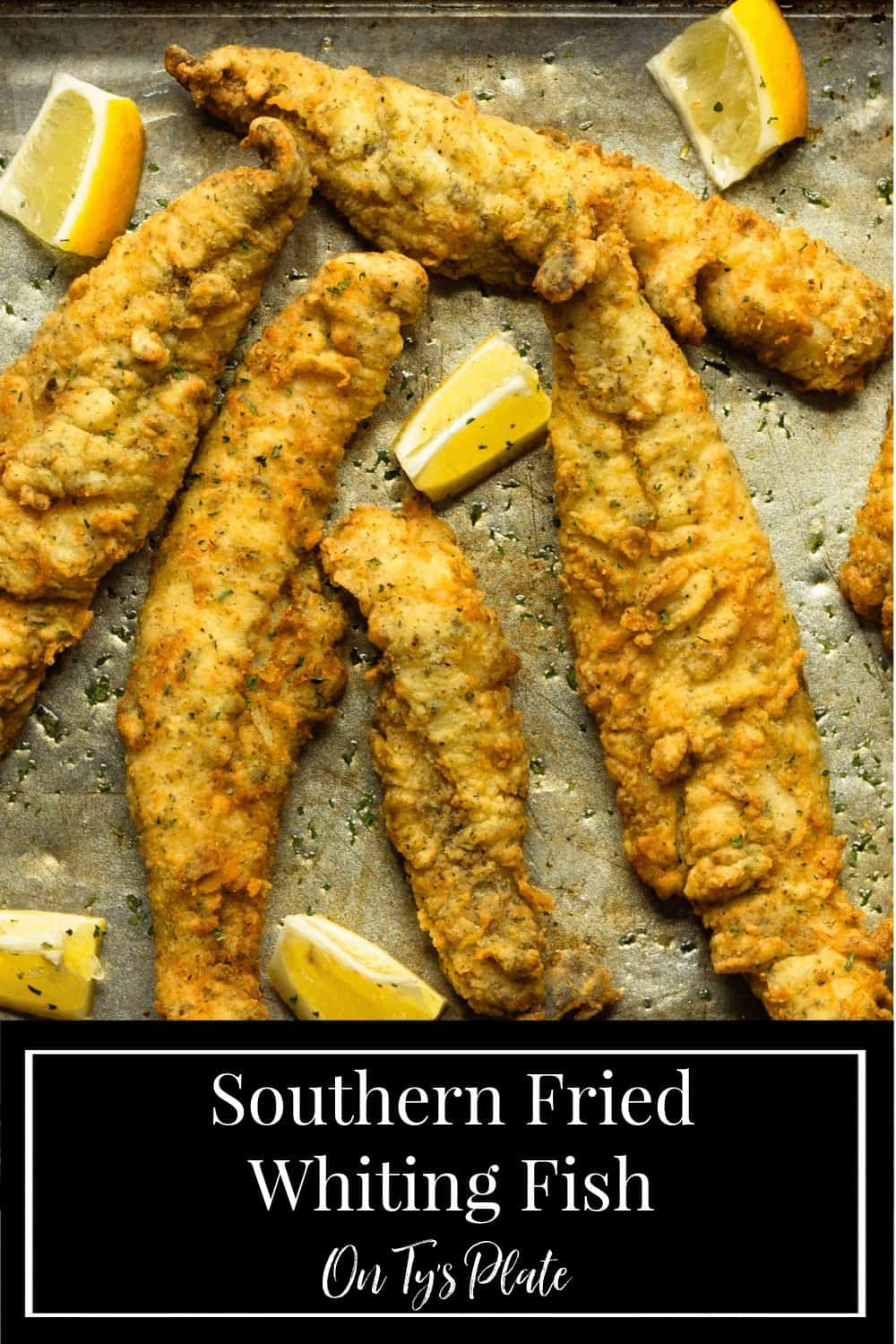 Southern Fried Whiting Fish