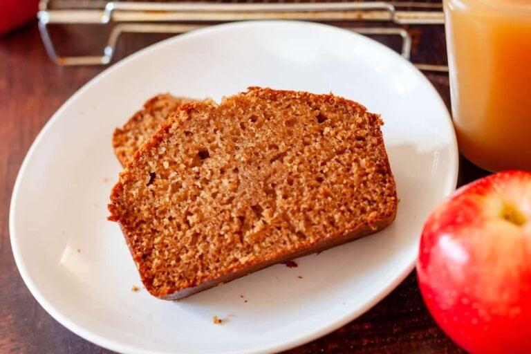 Cinnamon Apple Cider Bread