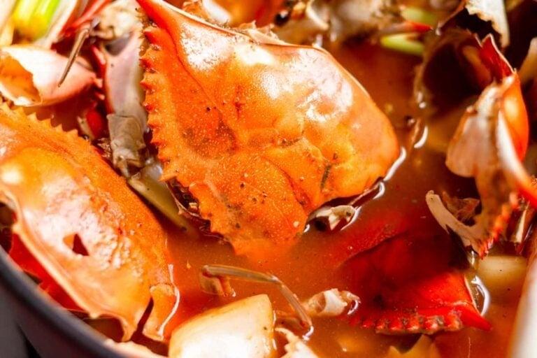 Homemade Crab Stock