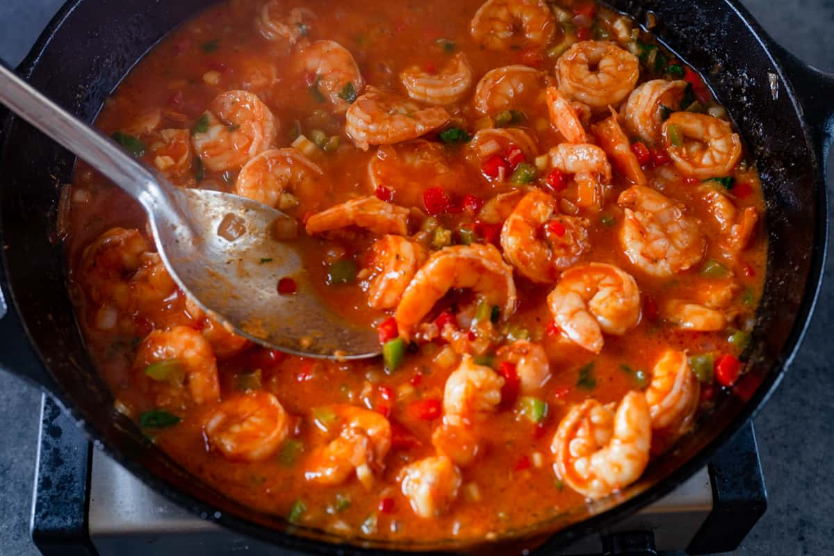 shrimp in creole sauce