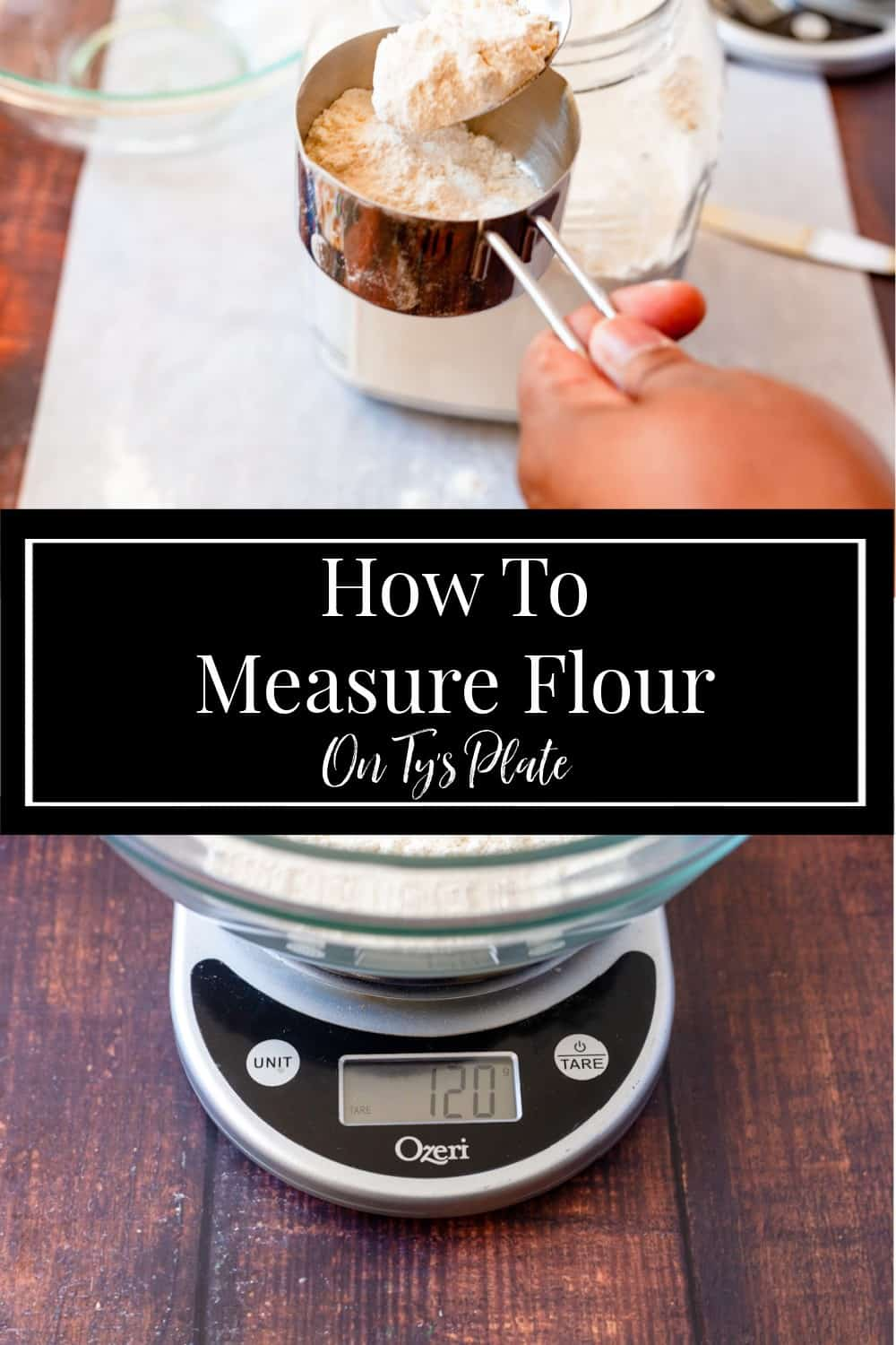 How To Measure Flour Accurately for Baking