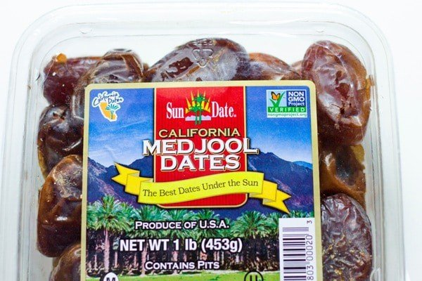 a package of medjool dates