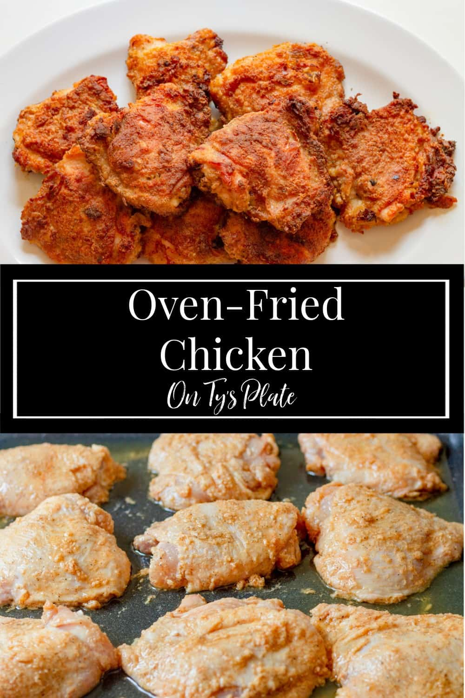 Crispy Oven-Fried Chicken