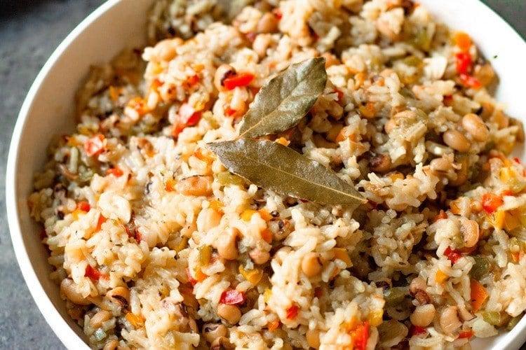 Healthy Hoppin' John (Black-Eyed Peas and Rice)