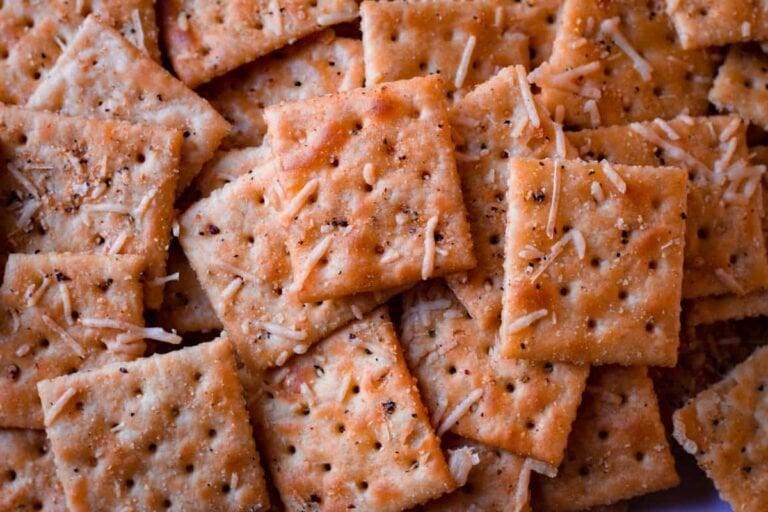 Italian Parmesan Saltine Crackers
