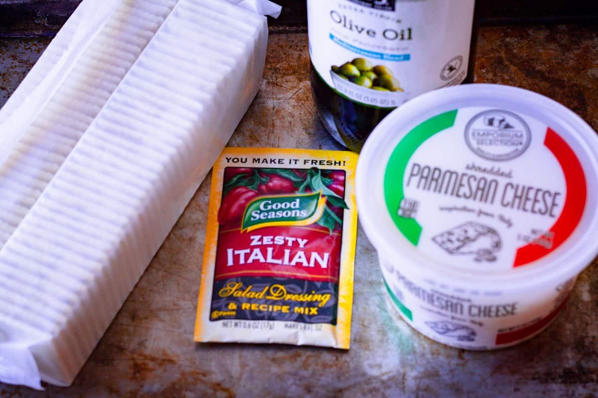 italian parmesan cracker ingredients