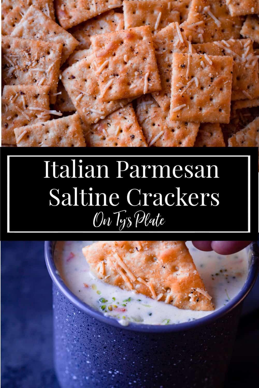Italian Parmesan Seasoned Saltine Crackers