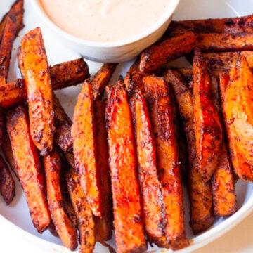 smoky sweet potato fries