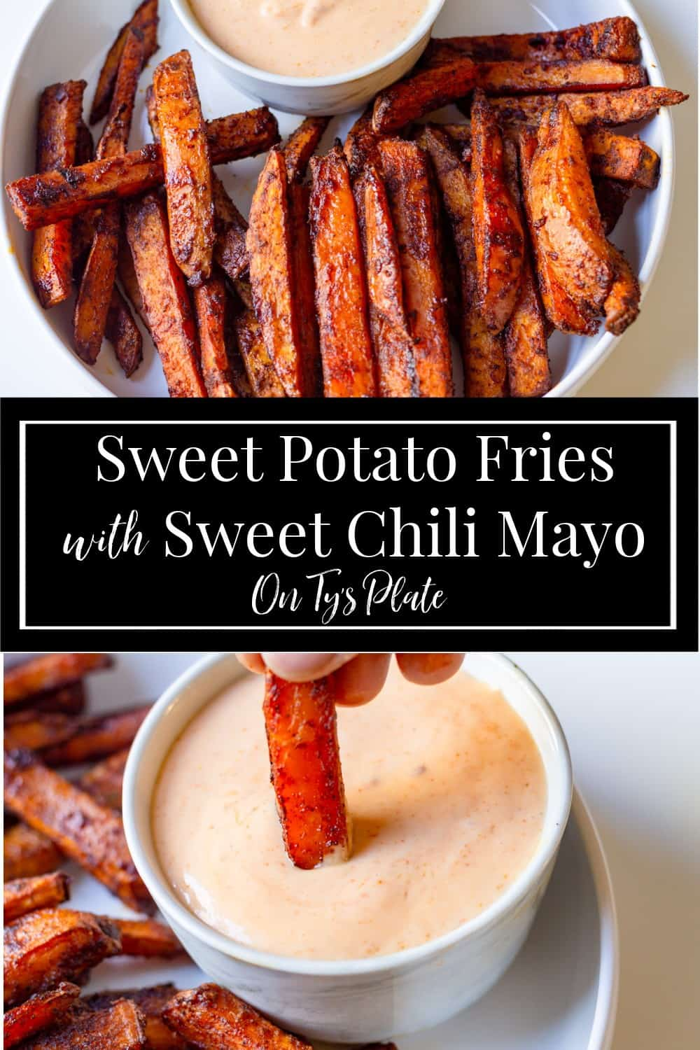 Sweet Potato Fries with Sweet Chili Mayo