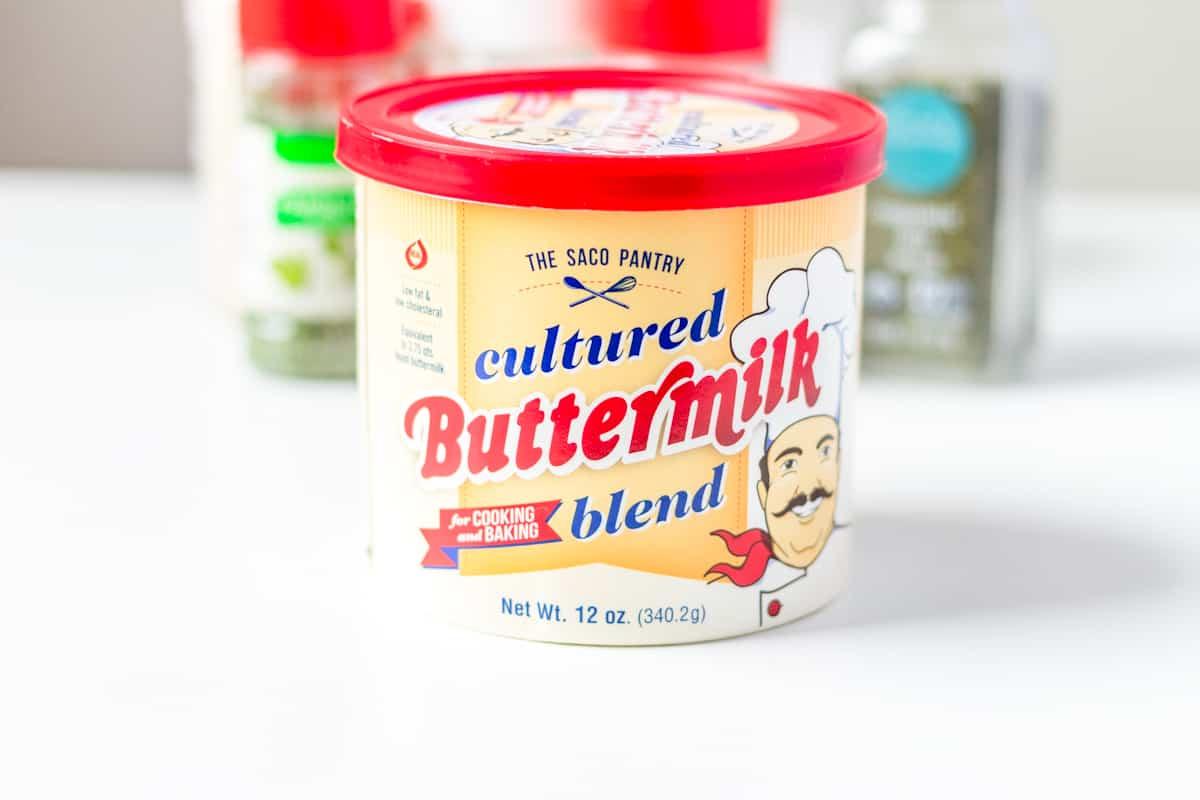 dried cultured buttermilk