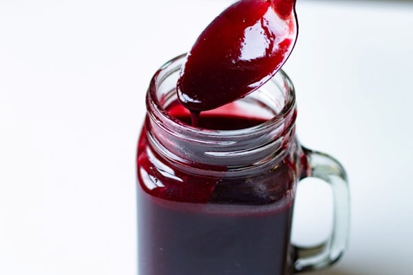 easy cherry coulis fruit sauce
