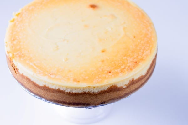 crack-proof New York cheesecake