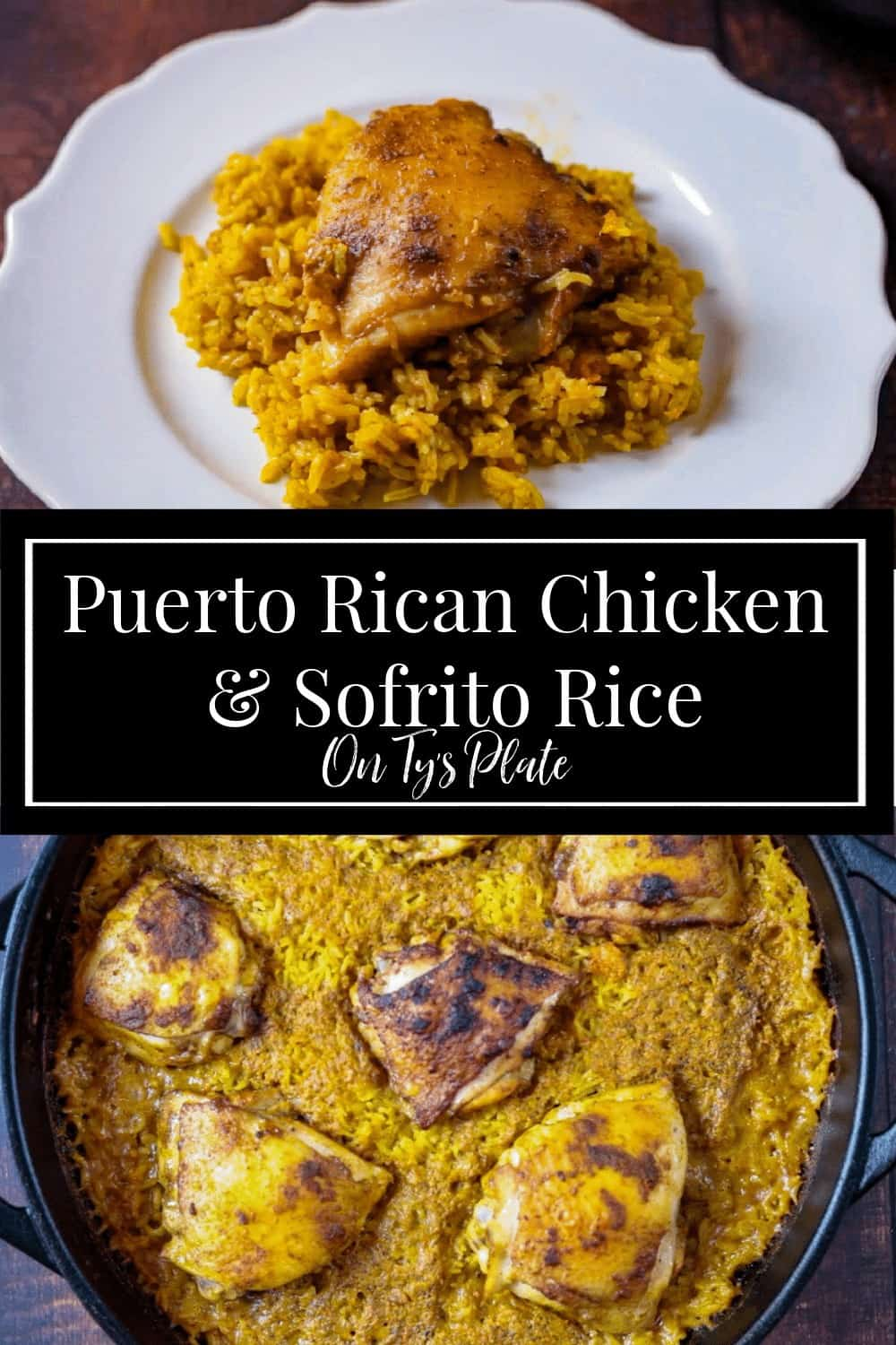 Puerto Rican Chicken and Sofrito Ric