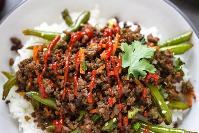 Asian-Inspired Beef Bowl