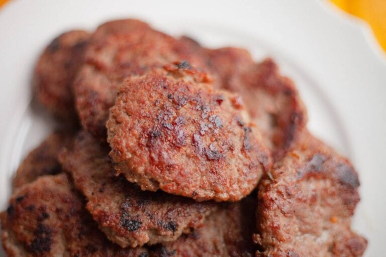 Low Carb Maple Breakfast Sausage