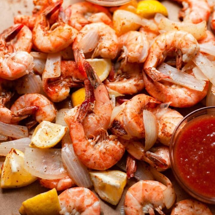 cocktail sauce with shrimp