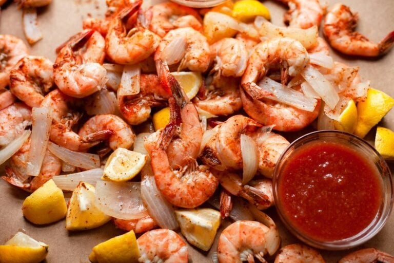 Maryland-Style Steamed Shrimp with Old Bay Butter