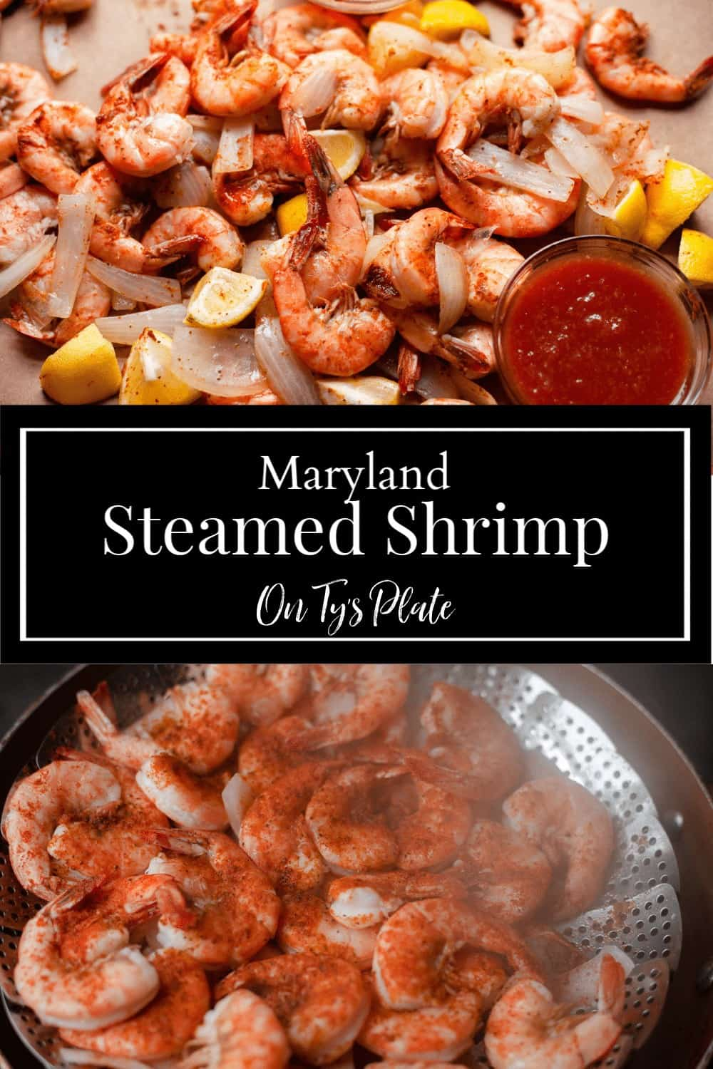 Maryland-Style Steamed Shrimp with Old Bay Butter⠀