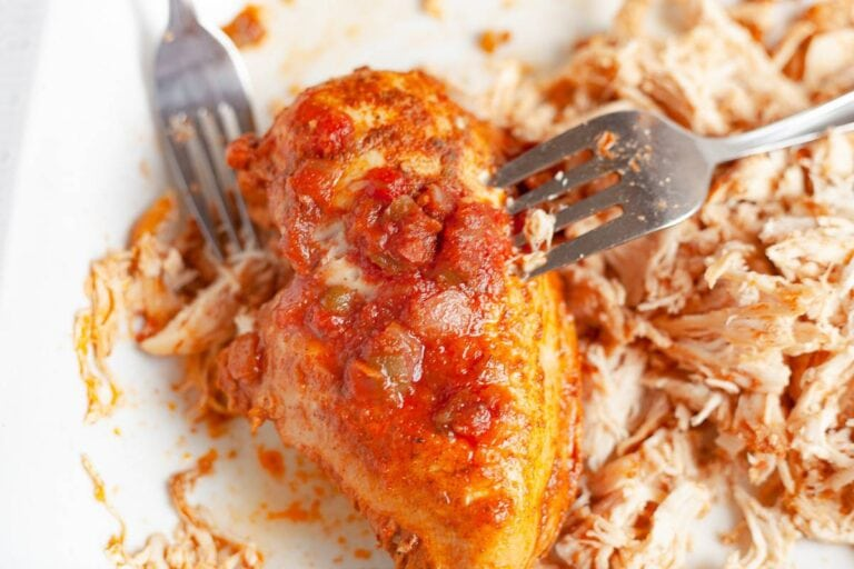 Instant Pot Salsa Chicken with Stovetop Option