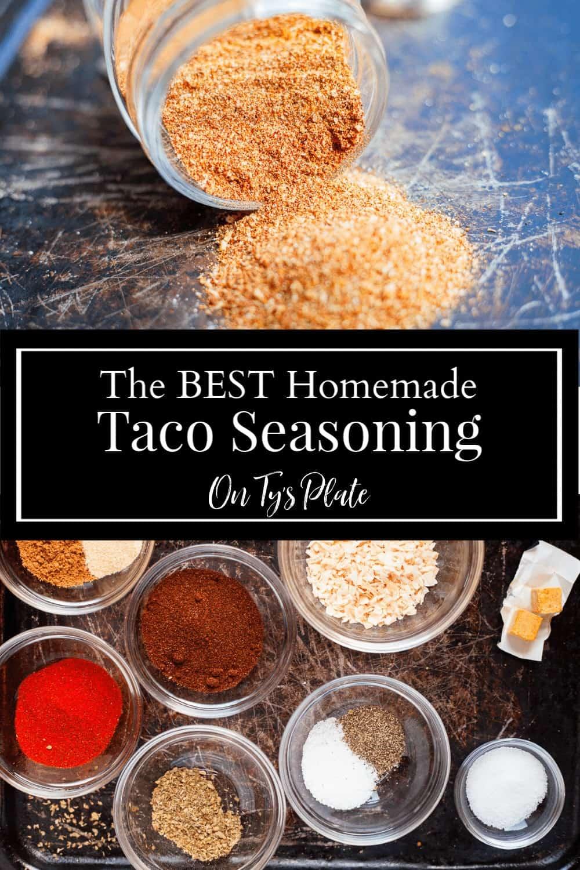 The Best Taco Seasoning