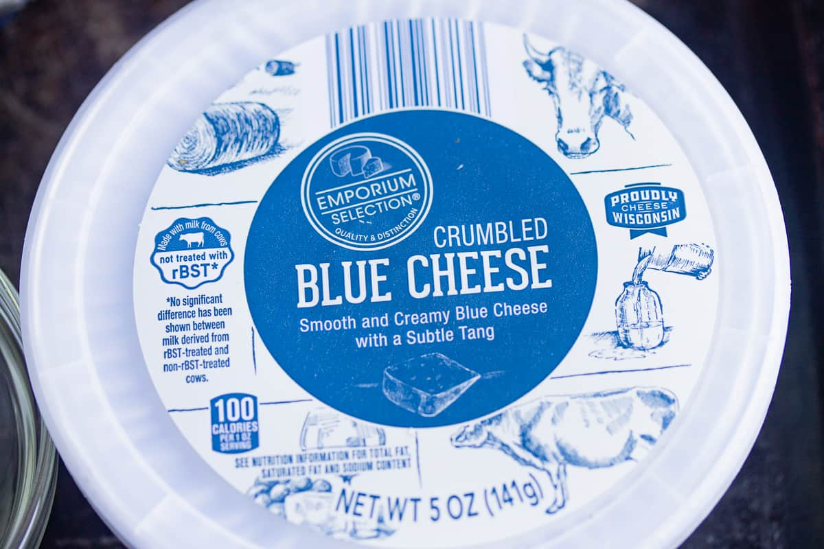 blue cheese container