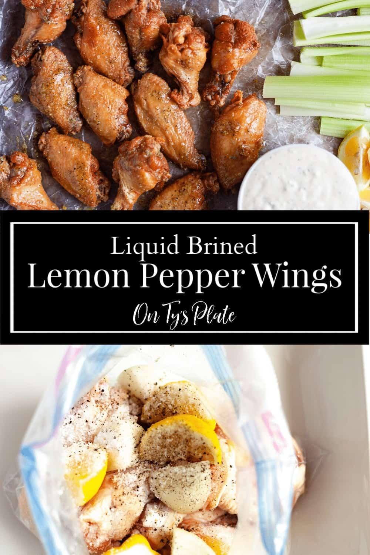 Crispy Lemon Pepper Wings