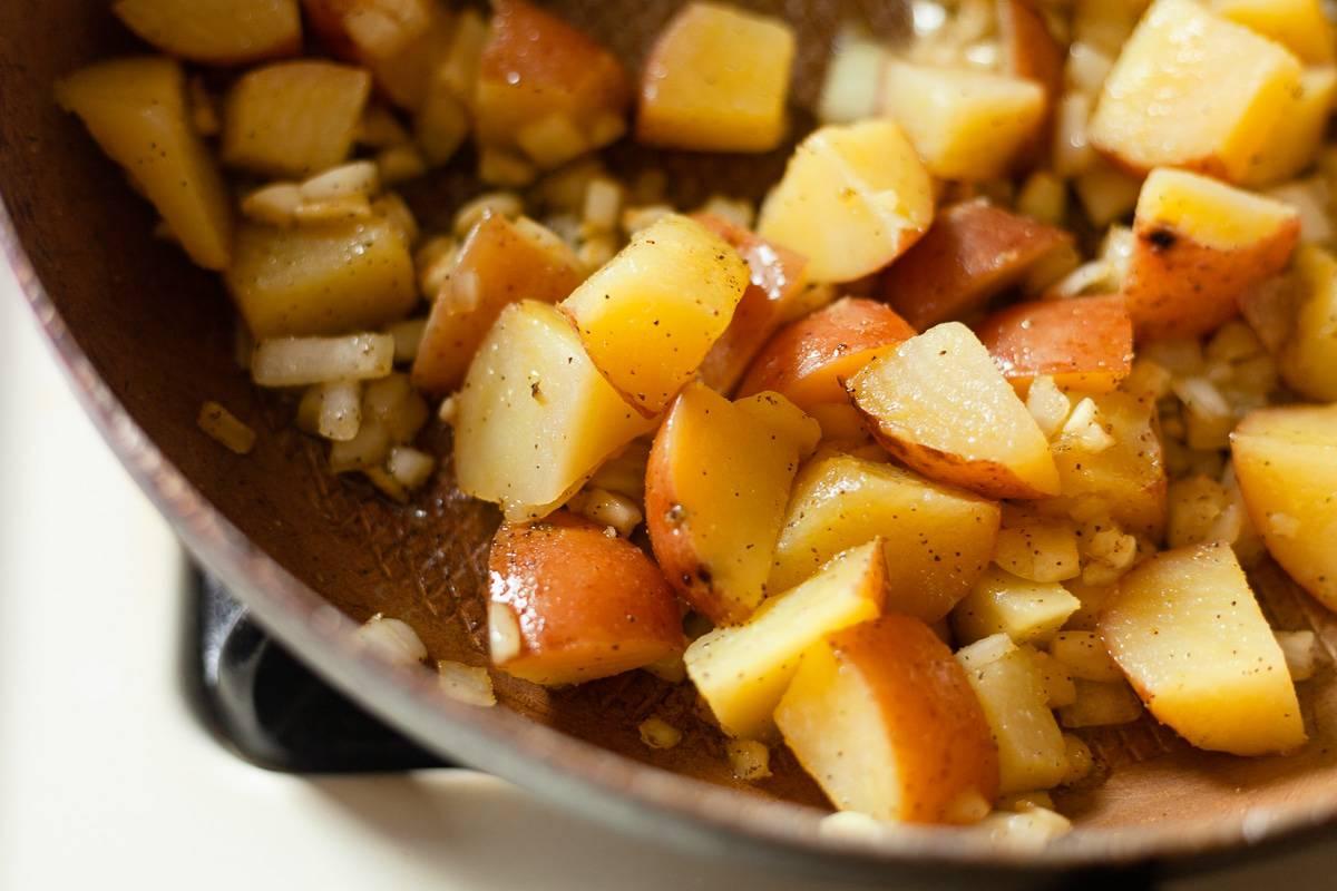 sauted potaotes