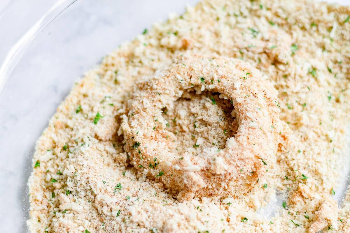 onion in bread batter