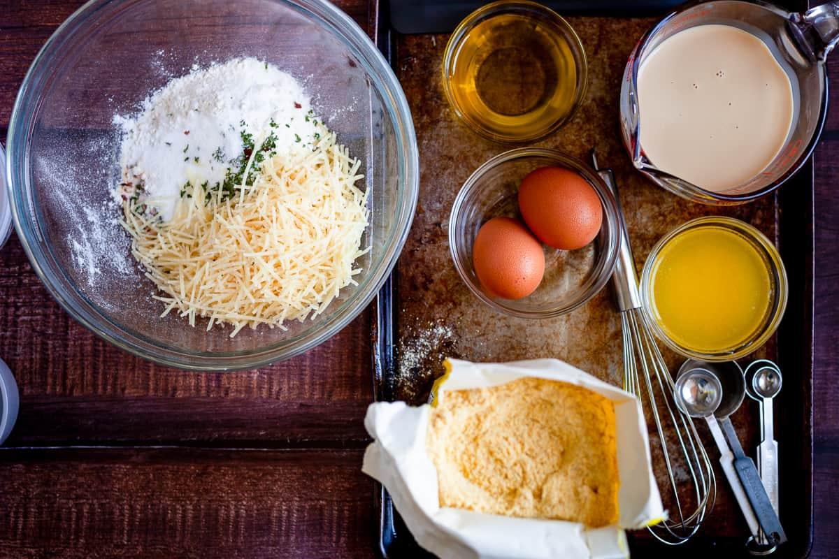 parmesan cornbread ingredients