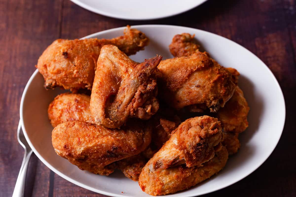 classic fried chicken platter