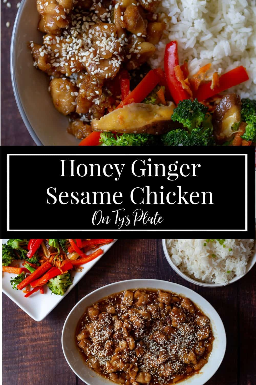 Honey Ginger Sesame Chicken