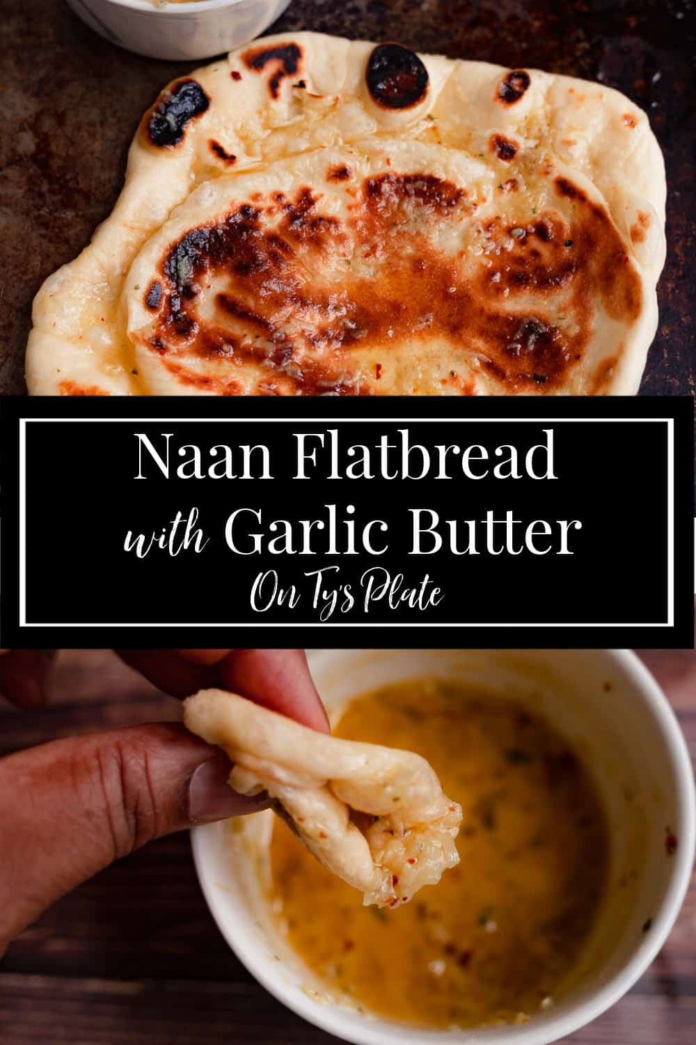 Homemade Naan Flatbread