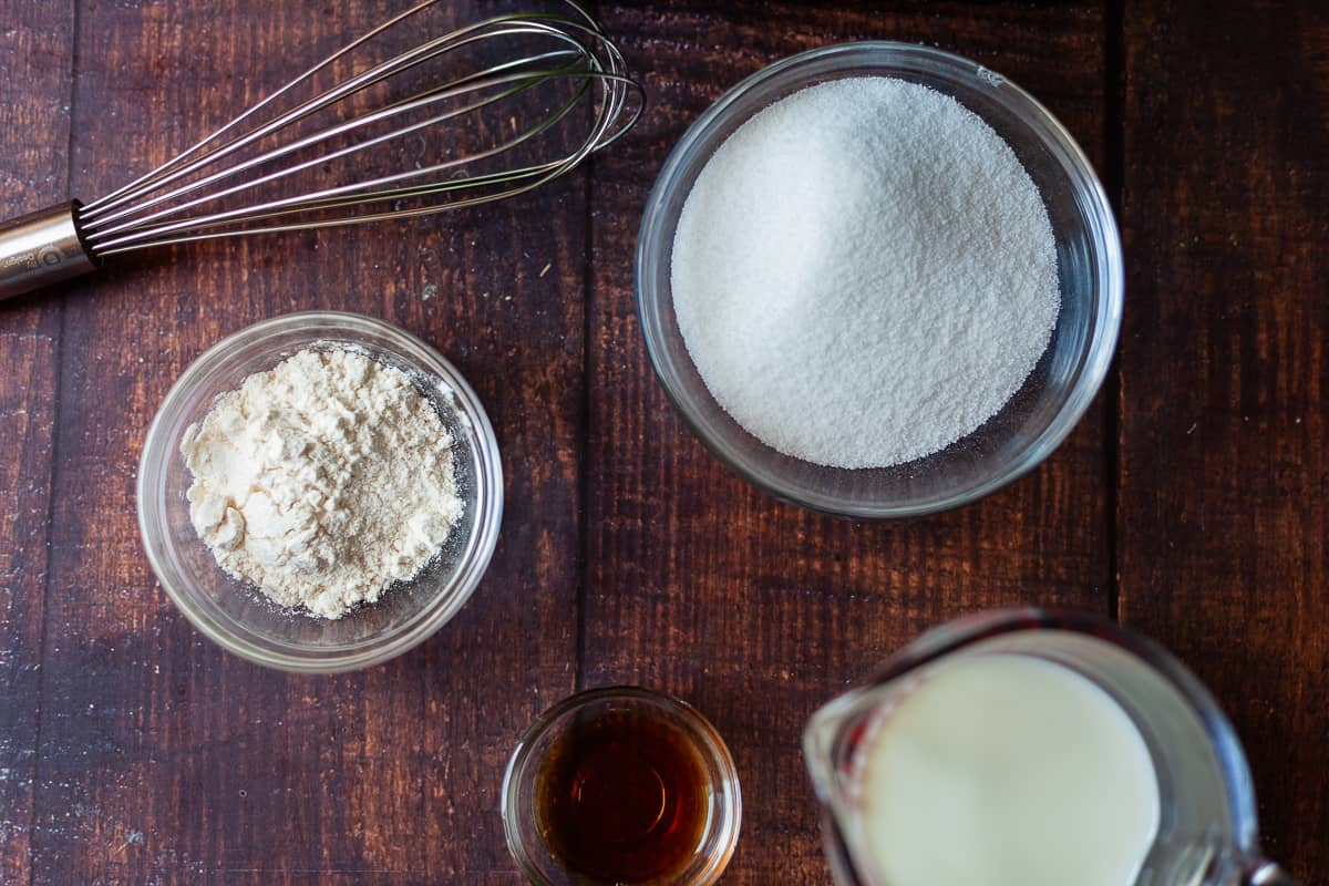 cream filling ingredients