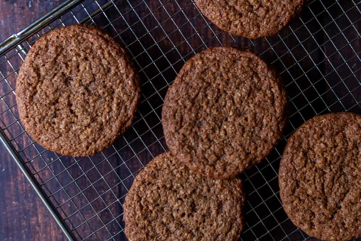 baked oatmeal cookies