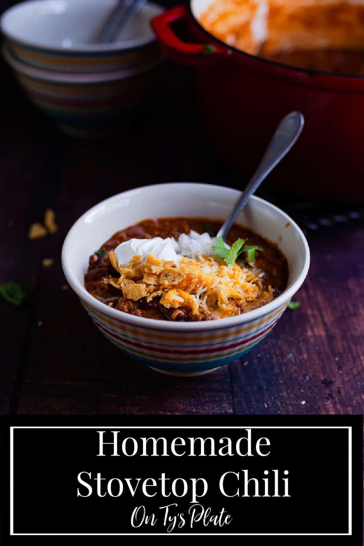 Homemade Stovetop Chili