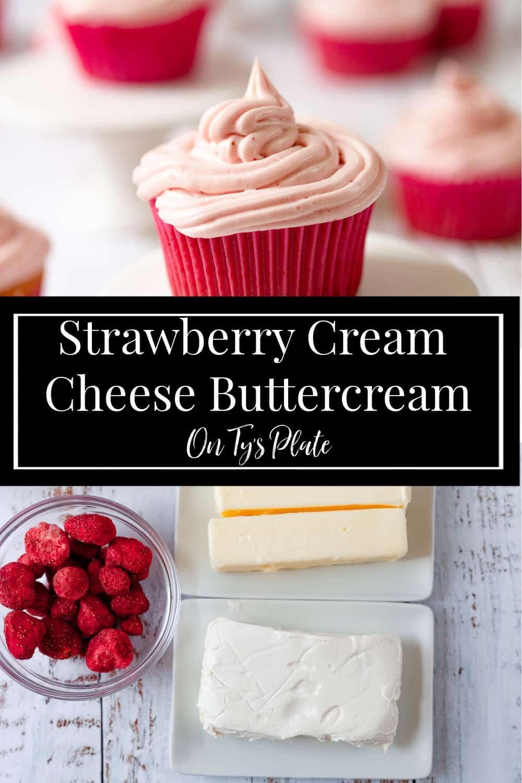 Strawberry Cream Cheese Buttercream